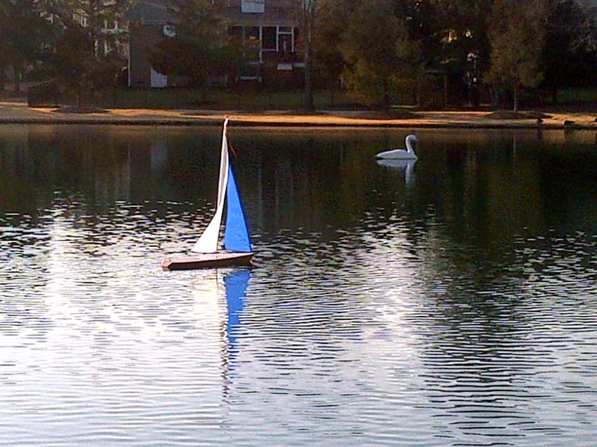 Radio Controlled Sail Boat