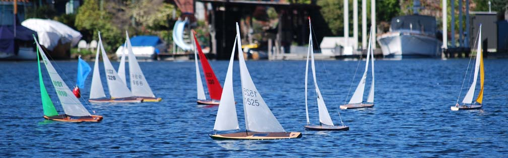 rc model sailboats Seattle YC