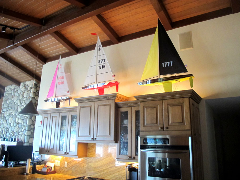 acrylic boat display
